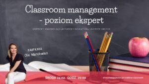 webinar dla nauczycieli classroom management
